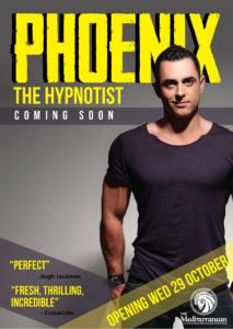 Sydney Comedy Stage Hypnotist Phoenix