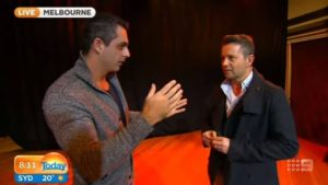 Today Show with Mentalist & Hypnotist Phoenix LIVE Channel Nine