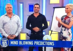 "Phoenix's Stunt on Channel Ten's ""Studio 10"".. ""HOW did you do it?!?!?!"""